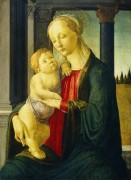 Мадонна с Младенцем - Боттичелли, Сандро