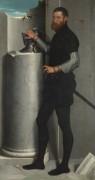 Портрет мужчины со шлемом - Морони, Джованни Баттиста