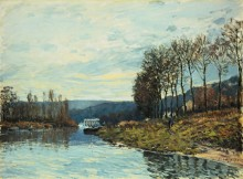 Сена в Буживале 1873 - Сислей, Альфред