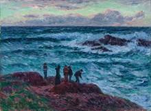 Крестьяне на берегу моря, Клоар - Море, Анри