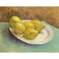 Натюрморт с тарелкой лимонов - Гог, Винсент ван