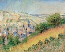 Пейзаж с видом на Ветёй - Моне, Клод