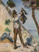 Мужчина с жилетом - Сезанн, Поль