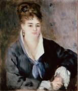 Женщина в черном - Ренуар, Пьер Огюст