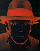 Портрет Джозефа Бейса (Portrait de Joseph Beuys), 1980 - Уорхол, Энди