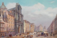 Улица Сент-Антуан, Париж - Боссоли, Карло