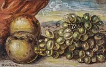 Натюрморт с фруктами - Кирико, Джорджо де