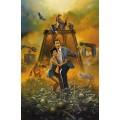Плакат фильма Одни неприятности - Вальехо, Борис (20 век)