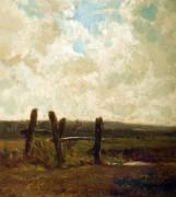Пейзаж в поле - Труайон, Констан