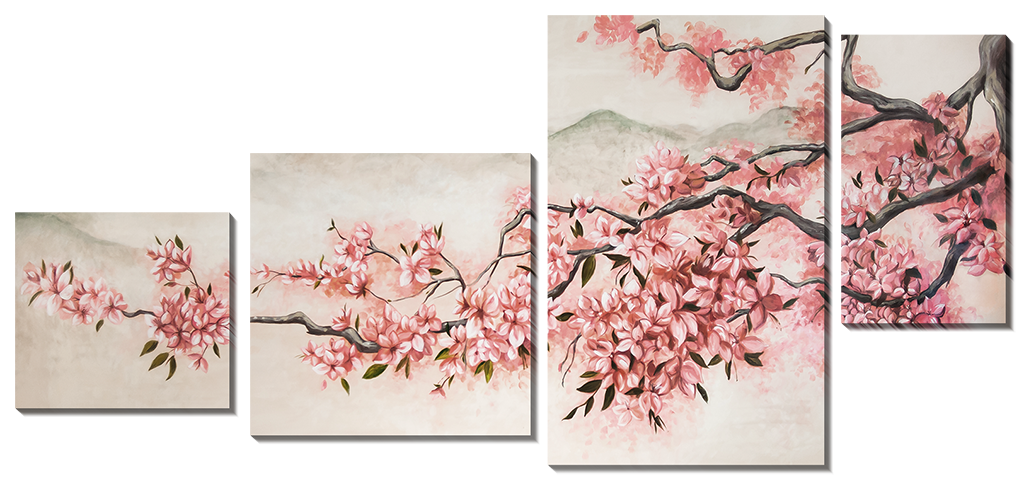 Цветущая ветка сакуры