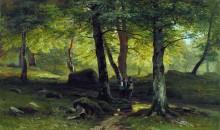 В роще, 1865 - Шишкин, Иван Иванович