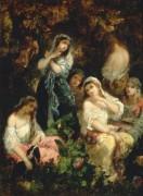 Праздные девицы - Диас де ла Пенья, Нарсис