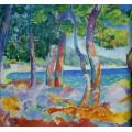 Сосновый лес в Кавальере - Манген, Анри