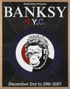 Афиша выставки Бэнкси в Нью-Йорке 2007 года - Бэнкси