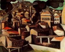 Дым с Валлори, 1951 - Пикассо, Пабло
