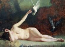 Женщина и голуби - Закари, Филипп