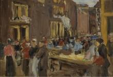 Еврейский квартал в Амстердаме, 1905 - Либерман, Макс