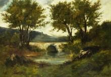 Маленький мост - Курбе, Гюстав