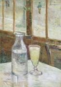 Столик в кафе с абсентом - Гог, Винсент ван