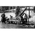 Французские тяжелые пушки, Первая мировая война