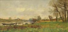 Остров в Сент-Уэне, 1881 - Дамуайе, Пьер-Эммануэль-Эжен