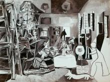 Этюд для картины Менины - Пикассо, Пабло