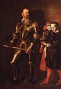 Портрет Алофа де Виньякура с пажом - Караваджо, Микеланджело Меризи да