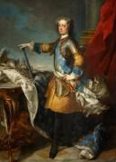 Людовик XV, король Франции и Наварры - Лоо, Жан-Батист ван