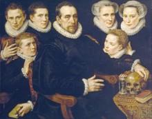 Семейный портрет, 1583 - Кей, Адриен Томас
