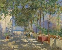 Патио в Капри, 1925 - Горбатов, Константин