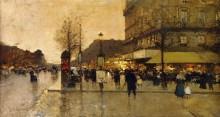 Парижская улица - Гальен-Лалу, Эжен