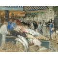 Рыбный рынок - Монтезен, Пьер-Эжен