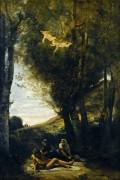 Раненый Святой Себастьян - Коро, Жан-Батист Камиль
