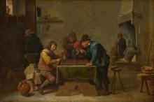 Игроки в нарды -  Тенирс, Давид