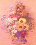 Ваза с цветами - Редон, Одилон