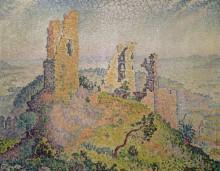 Пейзаж с руинами замка - Синьяк, Поль