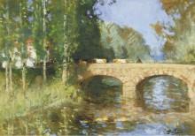 Мост через реку - Монтезен, Пьер-Эжен