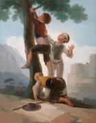 Восхождение на дерево - Гойя, Франсиско Хосе де