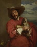 Портрет Франсуа Ланглуа - Дейк, Антонис Ван