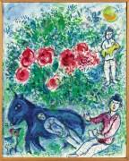 Голубой ослик - Шагал, Марк Захарович