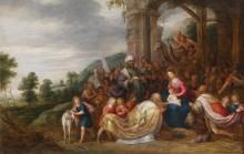 Поклонение волхвов - Йорданс, Ханс