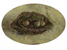 Корзинка с луком (Basket with Flowers-Bulbs), 1887 - Гог, Винсент ван
