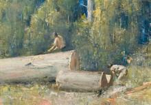Дровосеки (The Wood Splitters), 1924 - Робертс, Том