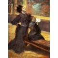 Визит в музей, 1880 - Дега, Эдгар