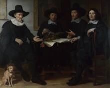 Групповой портрет - Экхаут, Гербранд ван ден