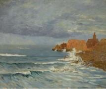 Красные скалы, 1884 - Мофра, Максим