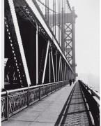 Пешеходная дорожка, Манхеттенский мост, Нью-Йорк - Эрвитт, Эллиот