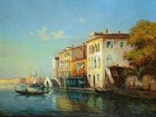 Венеция в лучах утреннего солнца - Бувар, Колетт