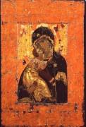 Богоматерь Владимирская, 1110-1130, 104 x 69 cм