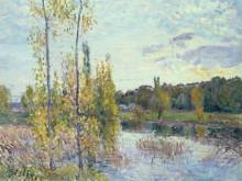 Озеро в Шеврёе - Сислей, Альфред